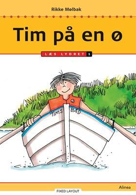 Tim på en ø, trin 1 Rikke Mølbak 9788723544537