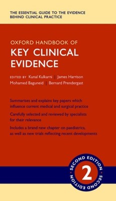 Oxford Handbook of Key Clinical Evidence  9780198729426