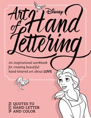 Art Of Hand Lettering Love Disney Book Group 9781368046831