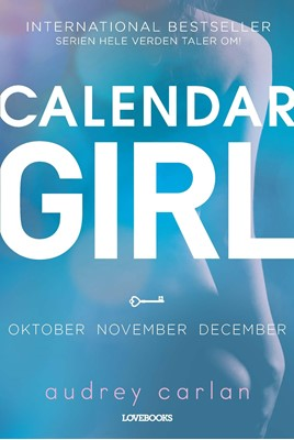 Calendar Girl 4: oktober-november-december Audrey Carlan 9788711563687