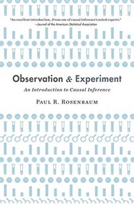Observation and Experiment Paul Rosenbaum 9780674241633
