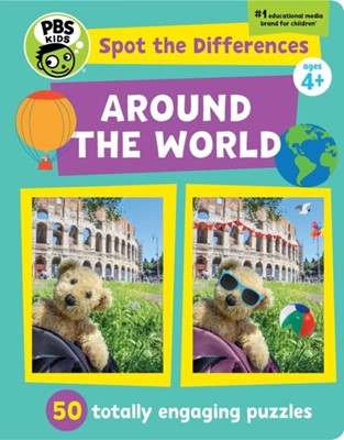 Spot The Differences: Around The World PBS Kids 9781941367865