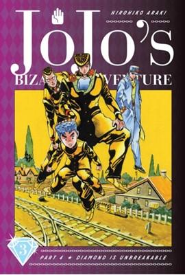 JoJo's Bizarre Adventure: Part 4--Diamond Is Unbreakable, Vol. 3 Hirohiko Araki 9781974708093