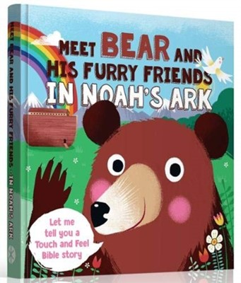 Meet Bear and His Furry Friends in Noah's Ark Guy Stancliff David 9788772030746