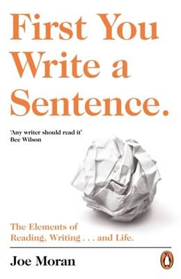 First You Write a Sentence. Joe Moran 9780241978511