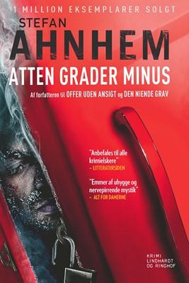 Atten grader minus Stefan Ahnhem 9788711697429