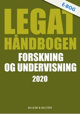 Legathåndbogen Forskning og undervisning 2020 Berit Jylling, Per Billesø 9788778424655