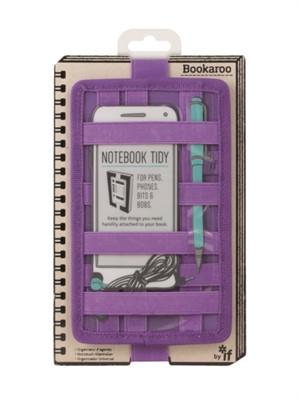Bookaroo Notebook Tidy - Purple  5035393409043