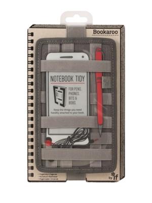 Bookaroo Notebook Tidy - Charcoal  5035393409029
