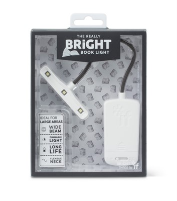 The Really Bright Book Light - White  5035393399030