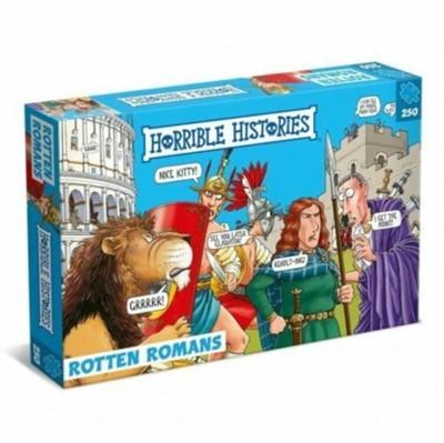 Horrible Histories Children's  250 Piece Jigsaw Puzzle - Rotten Romans  5012822072757
