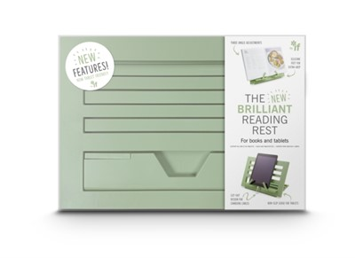 The NEW Brilliant Reading Rest - Sage Green  5035393420031