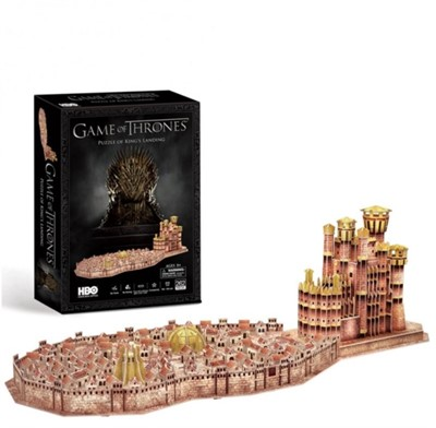 Games of Thrones King's Landing 3D Puzzle  5012822096319