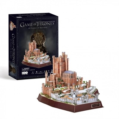 Game of Thrones Red Keep 3D Puzzle  5012822096302