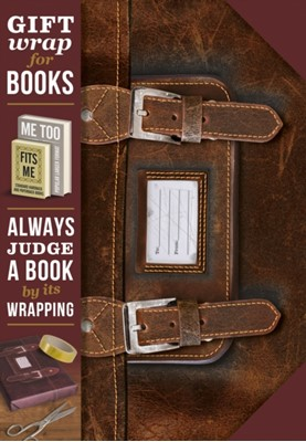 Gift Wrap for Books - Leather Satchel  5035393924041
