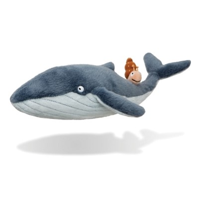 The Snail And The Whale Plush Toy  5034566612389