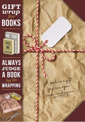 Gift Wrap for Books - Brown Paper Parcel  5035393924027