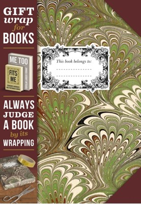 Gift Wrap for Books - Marbled Paper  5035393924058