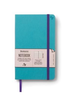 Bookaroo Notebook  - Turquoise  5035393432010