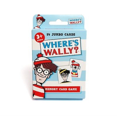 4015 Where's Wally Card Game  5012822040152