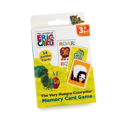 6145 Very Hungry Caterpillar Card Game  5012822061454