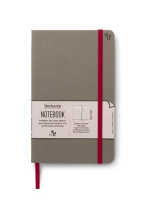 Bookaroo Notebook  - Grey  5035393432096