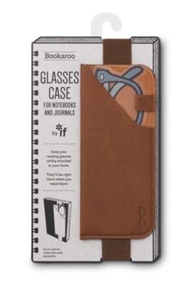 Bookaroo Glasses Case - Brown  5035393412029