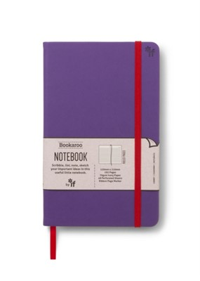 Bookaroo Notebook  - Purple  5035393432041