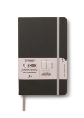 Bookaroo Notebook  - Black  5035393432034
