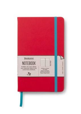 Bookaroo Notebook  - Red  5035393432027