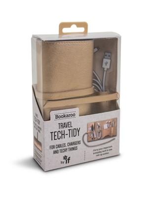 Bookaroo Travel Tech-Tidy - Metallic Copper  5035393410056
