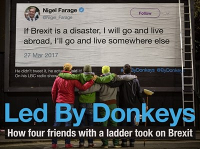 Led by Donkeys James Sadri, LedByDonkeys, Oliver Knowles, Ben Stewart 9781838950194