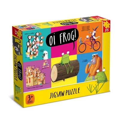 7335 Oi Frog 35pc Puzzle  5012822073358