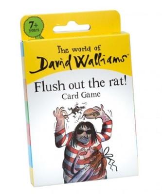 6055 Walliams Rat Burger Card Game  5012822068552