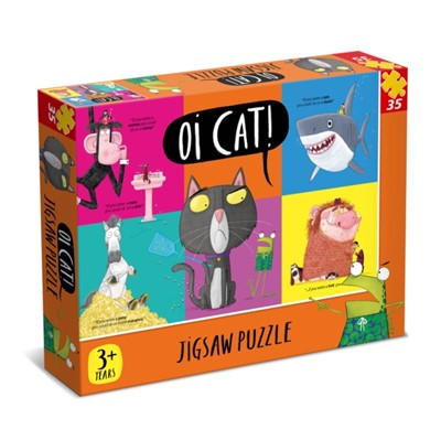 7315 Oi Cat 35pc Puzzle  5012822073150
