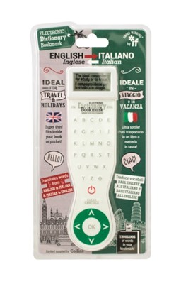 Electronic Dictionary Bookmark (Travel Edition) - Italian-English  5035393451028