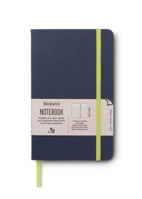 Bookaroo Notebook  - Navy  5035393432126