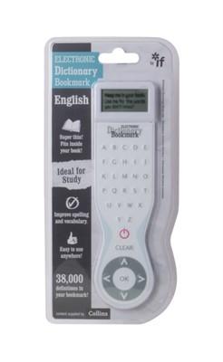 Electronic Dictionary Bookmark - English (UK) White  5035393452018