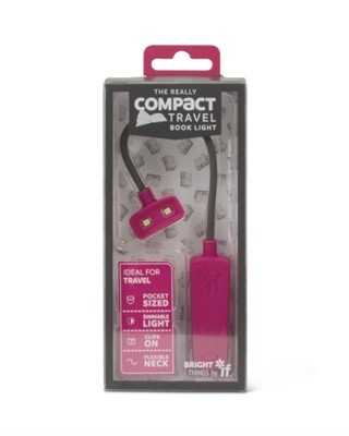 The Really Compact Travel Book Light - Pink  5035393397036