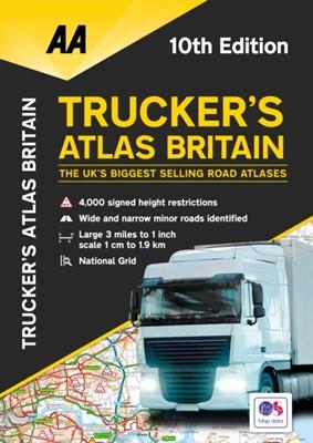 Trucker's Atlas Britain  9780749581992