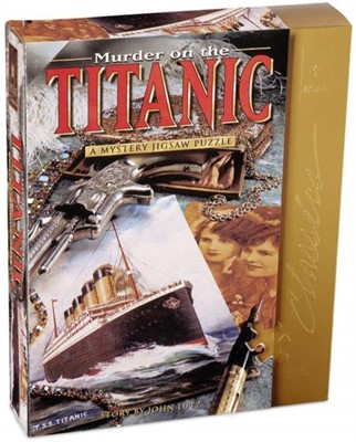 BePuzzled Murder on The Titanic 1000 Piece Mystery Jigsaw Puzzle Ukendt forfatter 23332005215