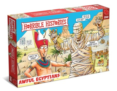 Horrible Histories Children's  250 Piece Jigsaw Puzzle - Awful Egyptians  5012822072559