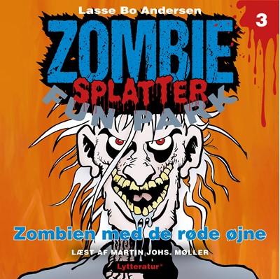 Zombien med de røde øjne Lasse Bo Andersen 9788770303460