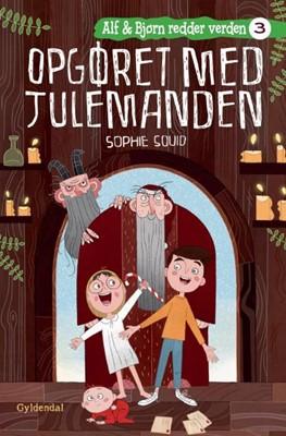 Alf og Bjørn redder verden 3 - Opgøret med julemanden Sophie Souid 9788702298604