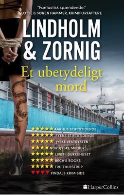Et ubetydeligt mord Mikael Lindholm, Lisbeth Zornig 9788771916812