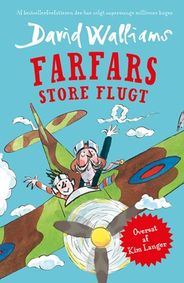 Farfars store flugt David Walliams 9788771916904