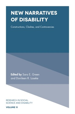 New Narratives of Disability  9781839091445
