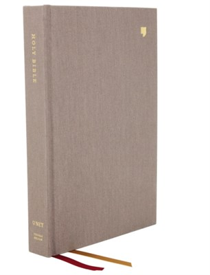 NET Bible, Thinline, Cloth over Board, Gray, Comfort Print Thomas Nelson 9780785224716