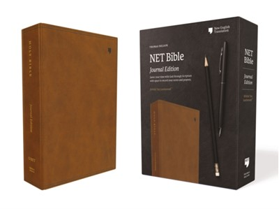 NET Bible, Journal Edition, Leathersoft, Brown, Comfort Print Thomas Nelson 9780785224860