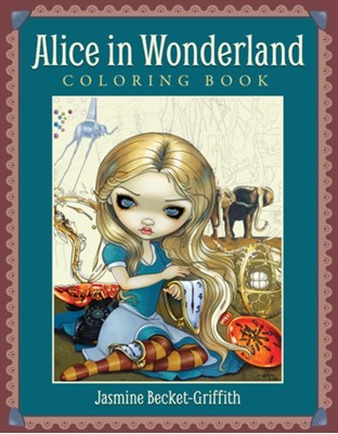 Alice in Wonderland Coloring Book  9781925538670